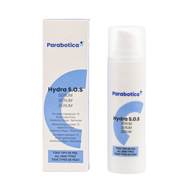 Parabotica HYDRA S.O.S Serum 30ml, feuchtigkeitsspendendes Konzentrat mit Hyaluronsäure für Gesicht,
