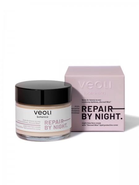 veoli Repair by night Nachtcreme feuchtigkeitsspendend 60ml alle Hauttypen, vegane Gesichtscreme