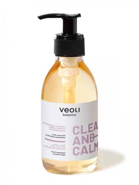 Vegane, antibakterielle Waschmittel mit Lavendel- und Kamillenextrakten 130 ml