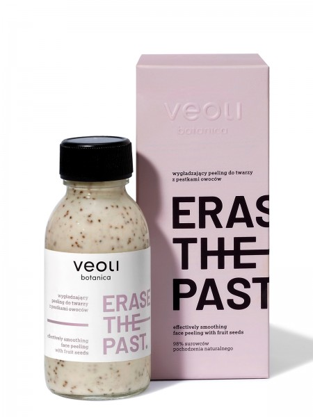 veoli Erase the past Gesichtspeeling 90ml alle Hauttypen, Peeling vegan zur Gesichtspflege, Porenrei