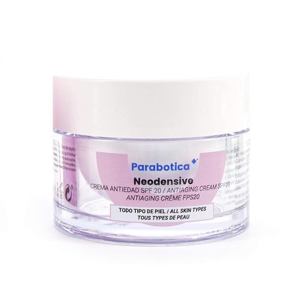 Parabotica NEODENSIVE Creme mit LSF20 50ml, Anti-Aging-Creme mit Hyaluronsäure, frei von Farbstoffen