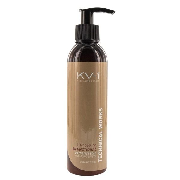 KV1 Capilar Bifunctional Hair Peeling 200m, Peeling zur Reinigung von Haar und Kopfhaut